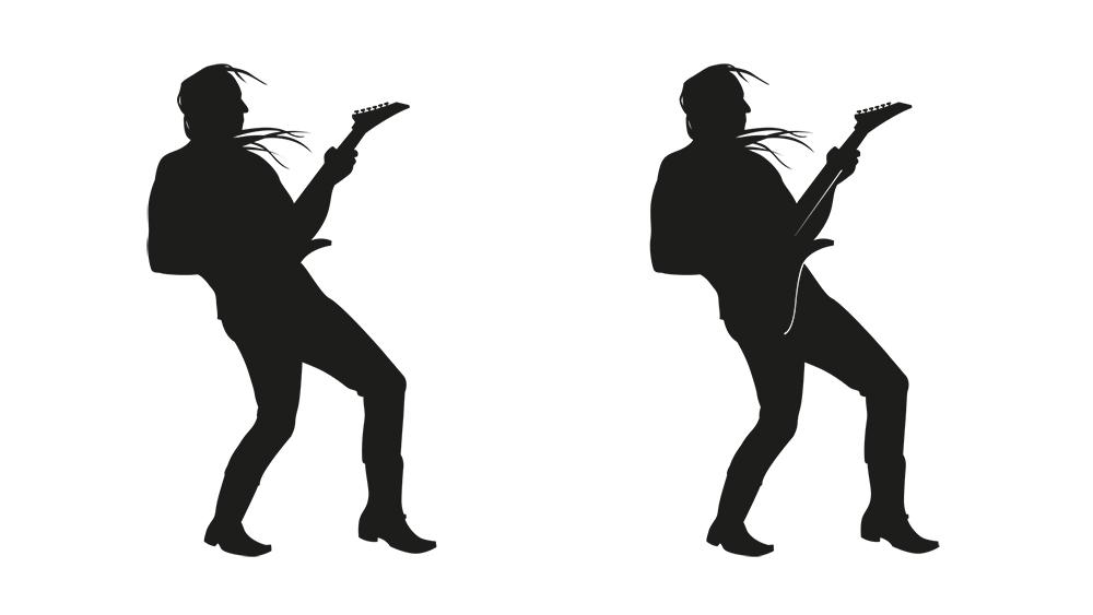 Rocker Silhouette | Rudolpho